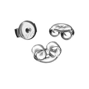 Farfalle per orecchini*argento 925*BAR 1 5,3 mm