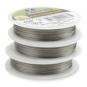 7STRD WIRE .021 BRIGHT 30 (0.53 mm, 9.2 m)