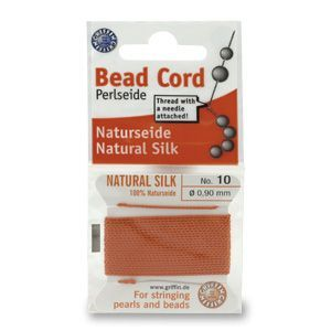 SILKTHREAD 10 - CORAL (0.90 mm, 2.0 m)