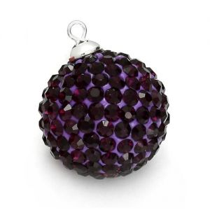 DISCOBALL AMETHYST 18 MM