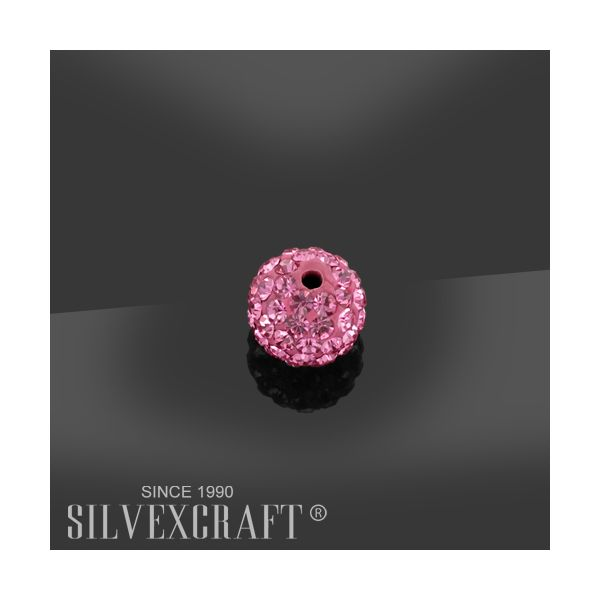 DISCOBALL 1 HOLE ROSE 6 MM