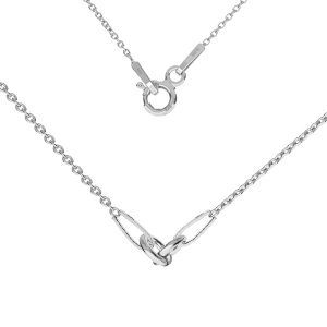 Collana base, argento 925, S-CHAIN 2 (A 030)