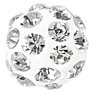 86001 MM6  WHITE (01) CRYSTAL ( 001)