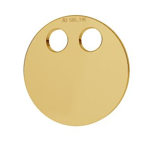 Il giro oro 14K pendente LKZ-00004 - 0,30 mm