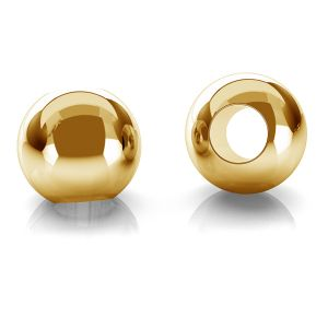 Perline 2,5mm oro 14K P2LZ 2,5 F:1,2