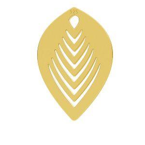 Foglia ciondolo, LK-0789 - 0,50