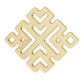Greca pendente oro 14K LKZ-00188 - 0,30 mm