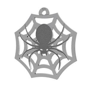 Ragno halloween ciondolo, LK-1020 - 0,50