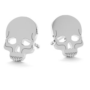 Cranio halloween orecchini, LK-1023 - 0,50