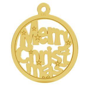 Merry Christmas pendente LK-1048 - 0,50