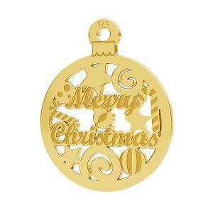 Merry Christmas pendente LK-1087 - 0,50