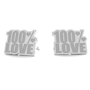 100% Love orecchini LK-1193 - 0,50 - KLS