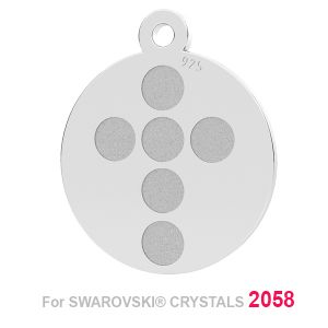 Trasversale ciondolo (2058 SS 7) LK-1175 - 0,50 ver.1