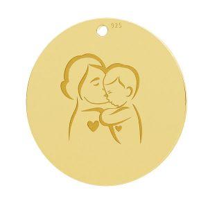 Madre e figlio pendente, LK-1281 - 0,50