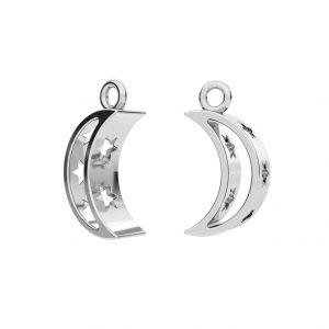 Luna pendente, argento 925, ODL-00303