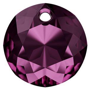 Classic Cut Pendant, Swarovski Crystals, 6430 MM 8,0 AMETHYST