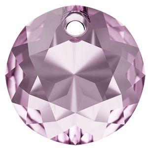 Classic Cut Pendant, Swarovski Crystals, 6430 MM 8,0 LIGHT AMETHYST