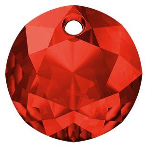 Classic Cut Pendant, Swarovski Crystals, 6430 MM 8,0 LIGHT SIAM