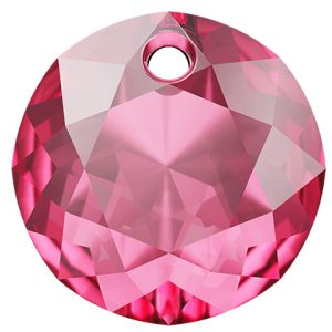Classic Cut Pendant, Swarovski Crystals, 6430 MM 8,0 ROSE