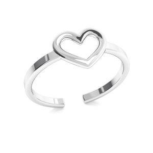 Cuole anello amanti, argento 925, ODL-00317
