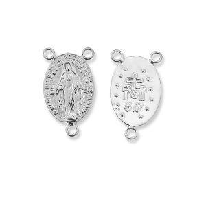 Connettore rosario, argento 925, W-57