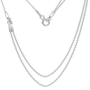 Collana base, argento 925, S-CHAIN 19 (A 030)