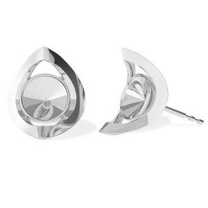 Il giro orecchini, argento 925, ODL-00360 KLS (1122 SS 29)