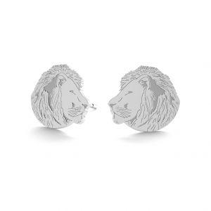 Leone orecchini, argento 925, LK-0895 KLS - 0,50