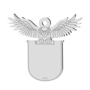 Lampadina pendente, argento 925, LK-1370 - 0,50