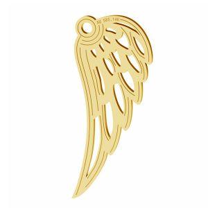 Ali d'angelo ciondolo, oro 14K, LKZ-01305 - 0,30