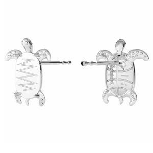 Orecchini tartaruga, ODL-00368 KLS (2602 MM 8,0X 5,5)