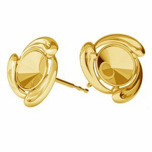 Il giro orecchini, argento 925, ODL-00374 KLS (1122 SS 29)