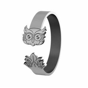 Gufo anello, argento 925, LK-1406 - 0,50