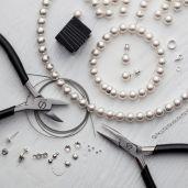 DIY bracciale, argento 925, Swarovski, DIY with SILVEXCRAFT NO.02003