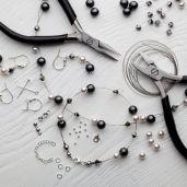 DIY bracciale, argento 925, Swarovski, DIY with SILVEXCRAFT NO.02004