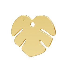 Loto fiore pendente oro 14K LKZ-00809 - 0,30
