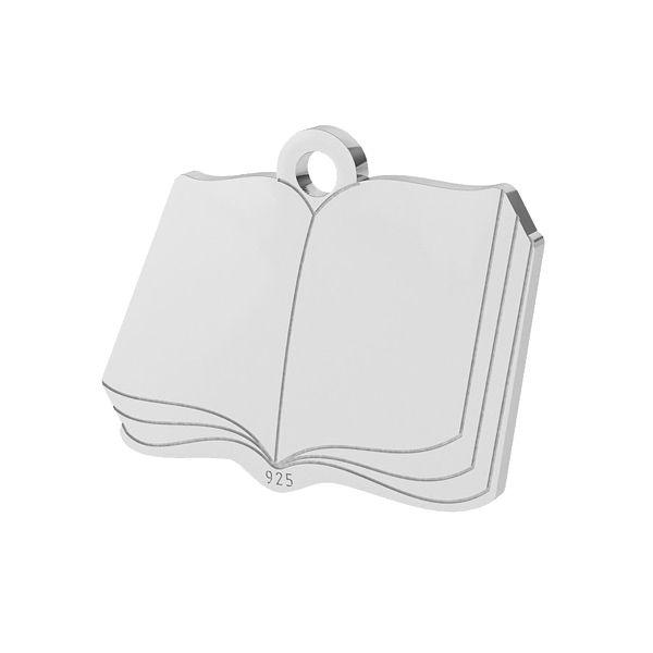 Libro pendente, argento 925, LK-1470 - 0,50