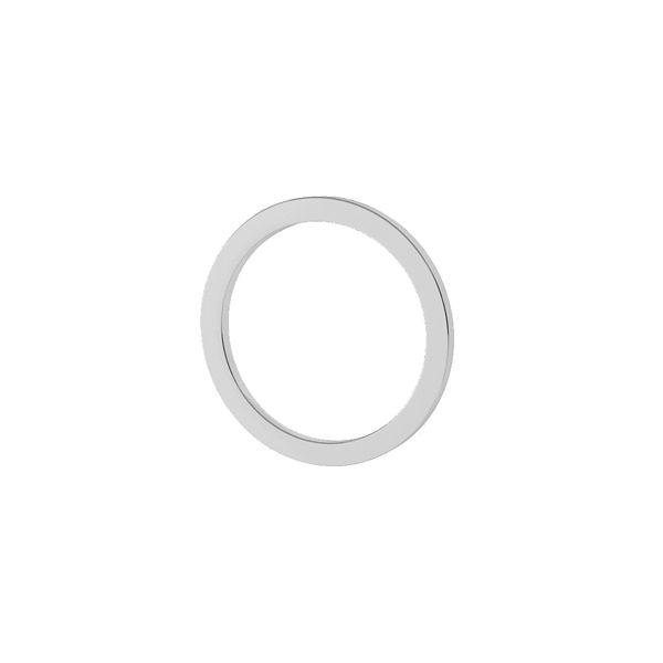 Cerchio aperto pendente 11mm, argento 925, LK-1501 - 0,40