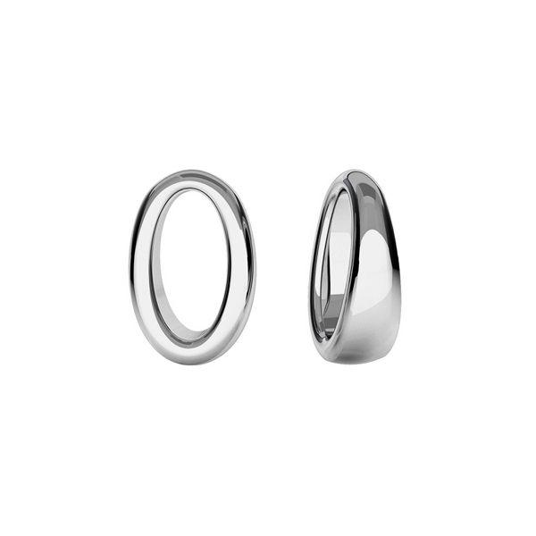 Oval pendente, argento, ODL-00437