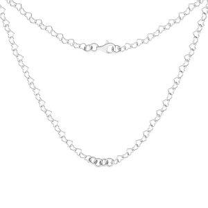 Collana base, argento 925, S-CHAIN 28 (SRC 045)
