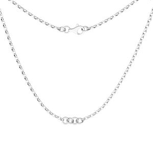 Collana base, argento 925, S-CHAIN 29 (ROLO OVAL 0,35X0,60)