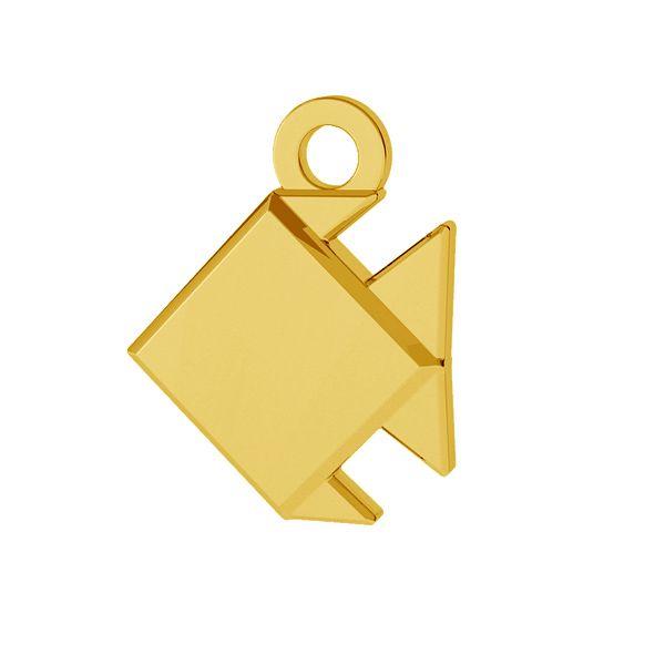 Origami Pesce Pendente Argento Odl 00434 Silvexcraft