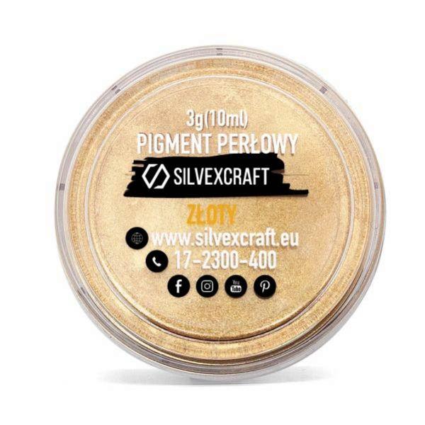 Pigmento perlato - dorato, 3 g
