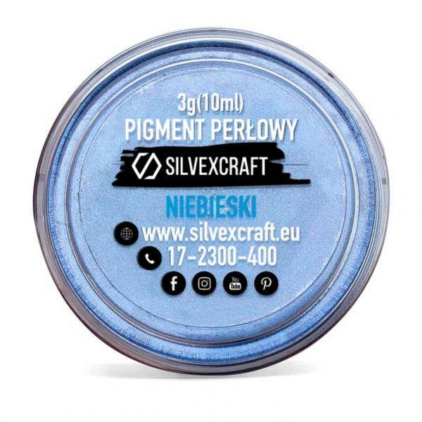 Pigmento perlato - blu, 3 g