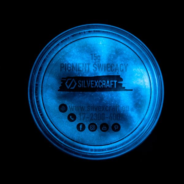 Pigmento blu incandescente, 15 g
