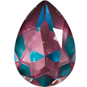 4320 MM 14,0X 10,0 CRYSTAL BURGUNDY_D, Pear Fancy Stone