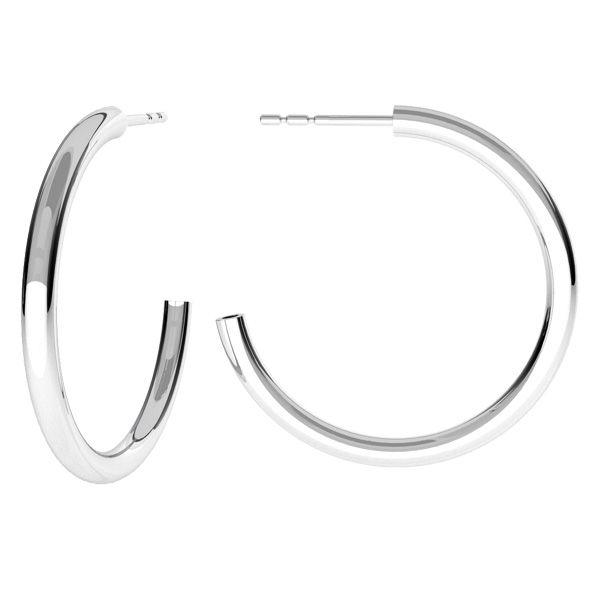 Il giro orecchini, argento 925, KLS-27