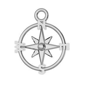 Bussola pendente argento 925, ODL-00465