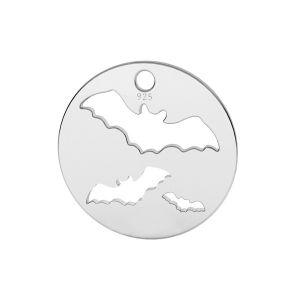 Pipistrello pendente argento, LK-1561 - 0,50
