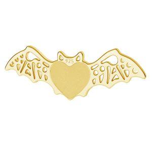 Pipistrello pendente argento, LK-1562 - 0,50